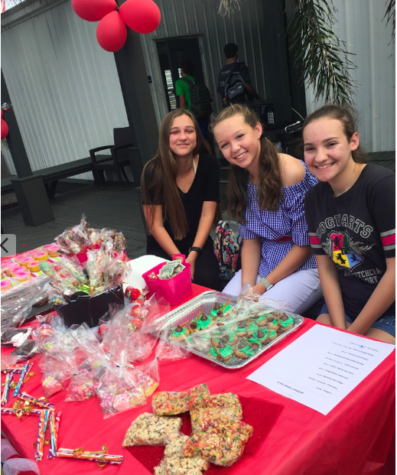 Interact Club Sweetens Up Homecoming Week