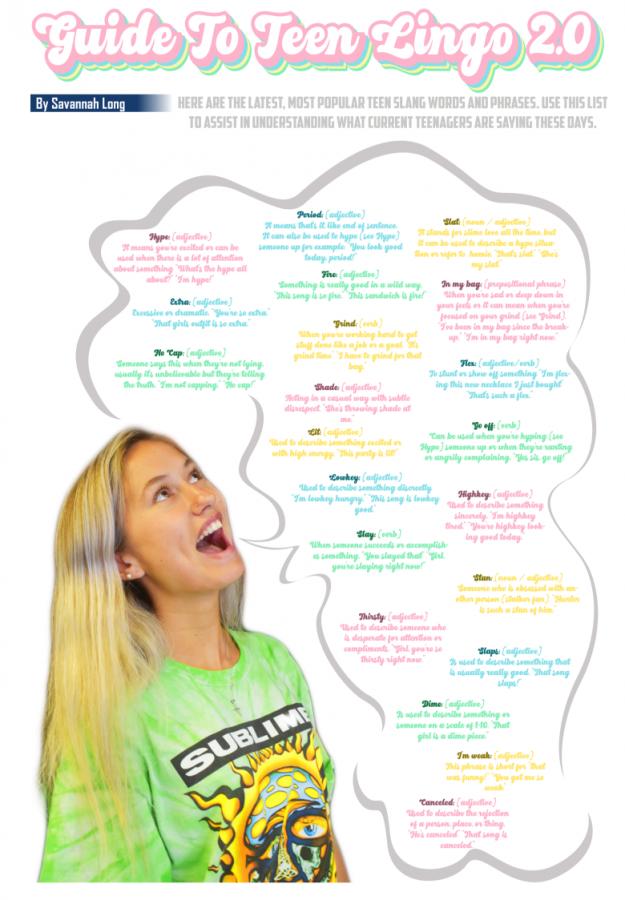 Guide to Teen Lingo 2.0