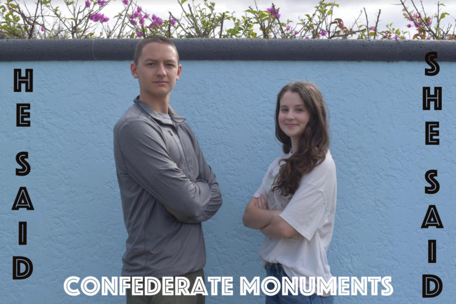 In this edition of He Said/She Said, Colin and Abby discuss Confederate monuments and their affect on the United States today.