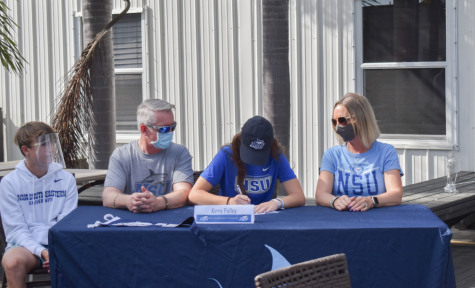 Kirra Polley as she commits to NSU