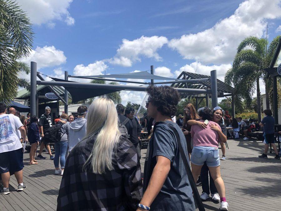 'Seniors saying their final goodbyes